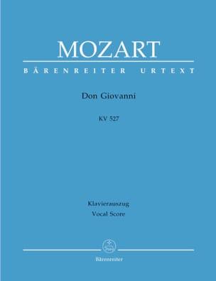 Don Giovanni K 527. Edition Reliée MOZART Partition laflutedepan