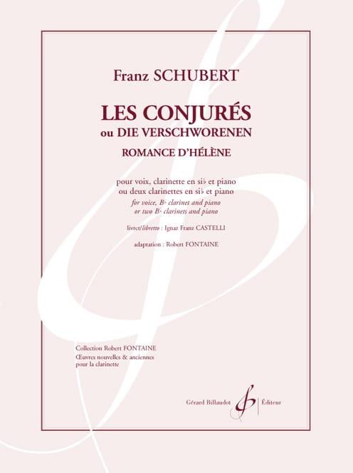 Romance d' Hélène. Les Conjurés - SCHUBERT - laflutedepan.com