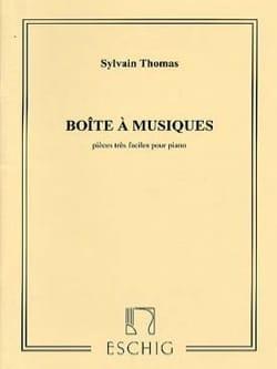 Boîte A Musiques - Sylvain Thomas - Partition - laflutedepan.com