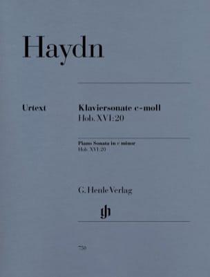 Sonate Pour Piano En Do Mineur Hob 16-20 HAYDN Partition laflutedepan