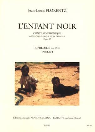 L'enfant Noir Opus 17-1 Jean-Louis Florentz Partition laflutedepan