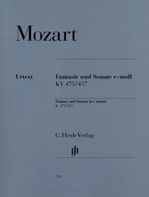Fantaisie et Sonate Do Mineur K 475 et 457 MOZART laflutedepan