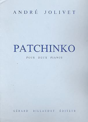 Patchinko. 2 Pianos - André Jolivet - Partition - laflutedepan.com