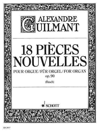 18 Pièces Nouvelles Opus 90 - Alexandre Guilmant - laflutedepan.be