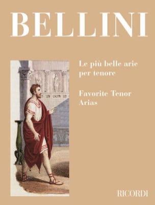 Le Piu Belle Arie Per Tenore BELLINI Partition Opéras - laflutedepan
