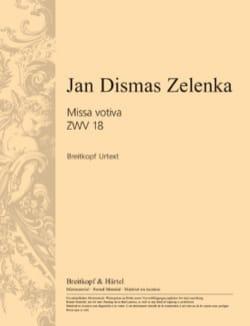 Missa votiva en Mi mineur ZWV 18 ZELENKA Partition laflutedepan