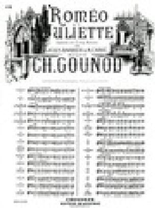 Dieu Qui Fit L'homme. Roméo et Juliette - GOUNOD - laflutedepan.com