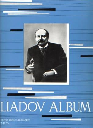 Liadov Album Anatoly Liadov Partition Piano - laflutedepan