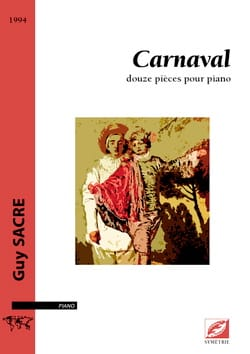 Carnaval - Guy Sacre - Partition - Piano - laflutedepan.com