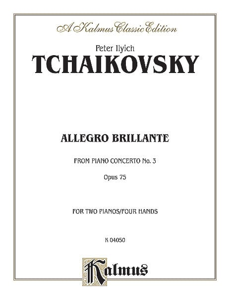 Allegro Brillante Du Concerto N°3. Op. 75. 2 Pianos - laflutedepan.com