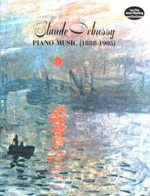 Piano Music 1888-1905 DEBUSSY Partition Piano - laflutedepan