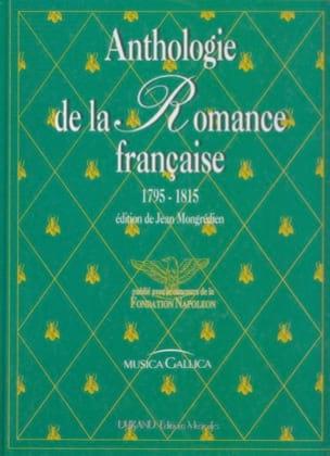 Anthologie Romance Française de 1795-1815 Partition laflutedepan