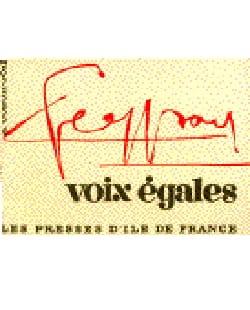 Voix Egales César Geoffray Partition Chœur - laflutedepan