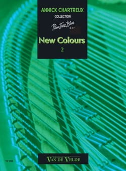New Colours Volume 2 Annick Chartreux Partition Piano - laflutedepan