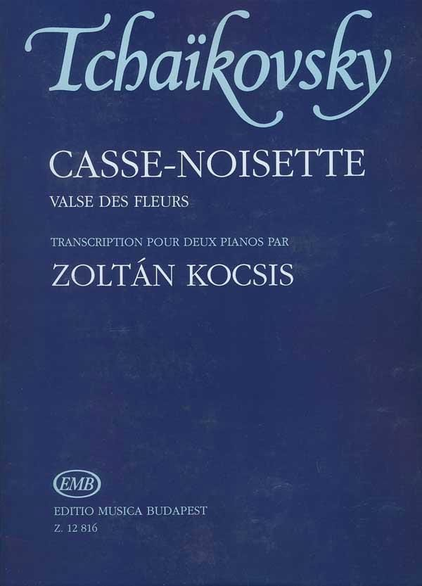 Valse des Fleurs Op. 71. 2 Pianos - TCHAIKOVSKY - laflutedepan.com