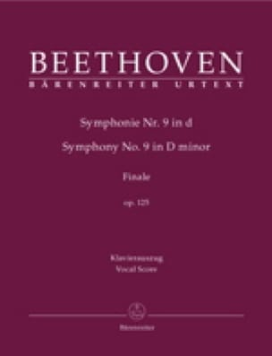 An Die Freude Opus 125 - BEETHOVEN - Partition - laflutedepan.com