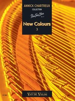 New Colours Volume 3 Annick Chartreux Partition Piano - laflutedepan