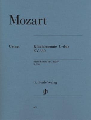 Sonate pour piano en Do majeur K. 330 300h MOZART laflutedepan