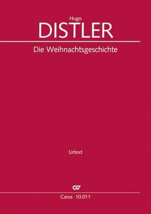Die Weihnachtsgeschichte op. 10 - Hugo Distler - laflutedepan.com