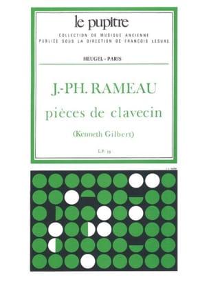 Pièces de Clavecin Rameau Jean-Philippe / Gilbert Kenneth laflutedepan