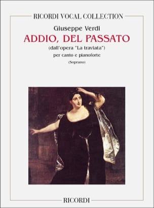 Addio Del Passato. la Traviata VERDI Partition Opéras - laflutedepan
