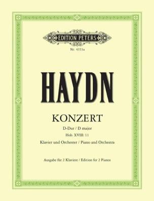 Concerto pour piano Hob 18-11 HAYDN Partition Piano - laflutedepan