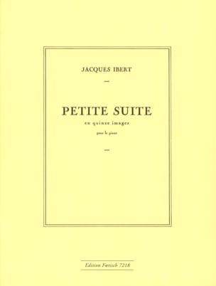 Petite suite en 15 images - IBERT - Partition - laflutedepan.com