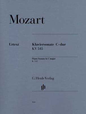 Sonate Pour Piano En Ut Majeur K. 545 MOZART Partition laflutedepan