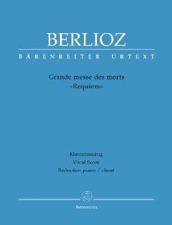 Grande Messe des Morts Requiem Opus 5 BERLIOZ Partition laflutedepan