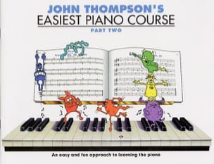 Easiest Piano Course Volume 2 Partition Piano - laflutedepan