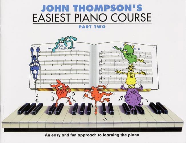 Easiest Piano Course Volume 2 - Partition - laflutedepan.com
