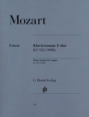 Sonate Pour Piano En Fa Majeur K. 332 300k MOZART laflutedepan