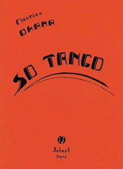 So Tango Maurice Ohana Partition Clavecin - laflutedepan