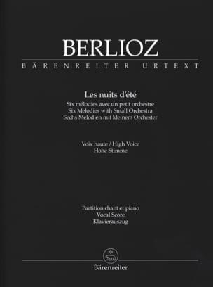 BERLIOZ - Noches de verano. Voz alta - Partition - di-arezzo.es