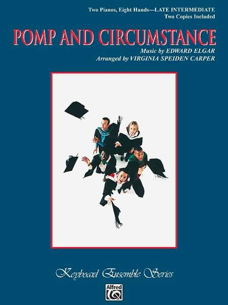 Pomp And Circumstance. 2 Pianos 8 Mains - ELGAR - laflutedepan.com