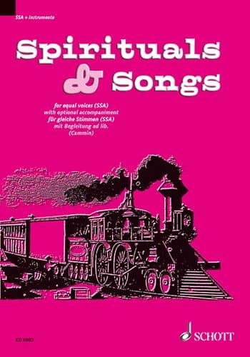 Spirituals and Songs - Partition - Chœur - laflutedepan.com