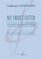 My Sweet Sister CONNESSON Partition Alto - laflutedepan