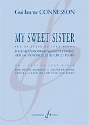 My Sweet Sister - CONNESSON - Partition - Alto - laflutedepan.com