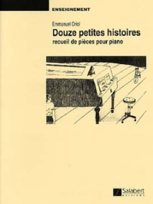 12 Petites Histoires. - Emmanuel Oriol - Partition - laflutedepan.com