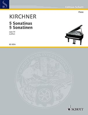 Theodor Kirchner - 5 Sonatines Opus 70 - Partition - di-arezzo.co.uk