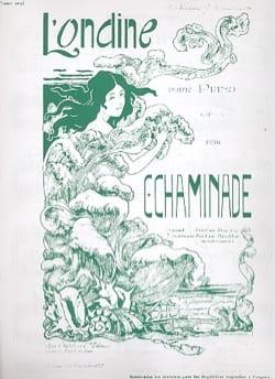 L' Ondine Op. 101 Cécile Chaminade Partition Piano - laflutedepan