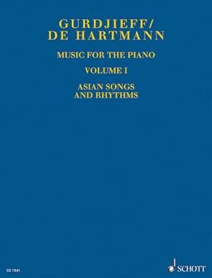 Music For Piano. Volume 1 GURDJIEFF / HARTMANN Partition laflutedepan
