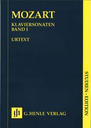 Sonates Complètes. Volume 1 MOZART Partition laflutedepan