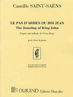Le Pas D'armes Du Roi Jean. Voix Moyenne SAINT-SAËNS laflutedepan