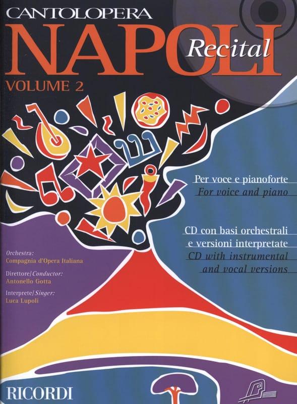 Napoli Recital Volume 2 - Partition - Mélodies - laflutedepan.com