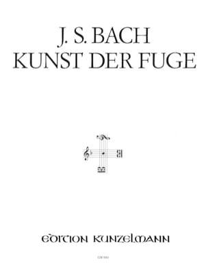 Kunst Der Fuge Bwv 1080. 2 Pianos BACH Partition Piano - laflutedepan