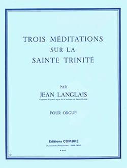 3 Méditations sur la Sainte Trinité Opus 129 laflutedepan