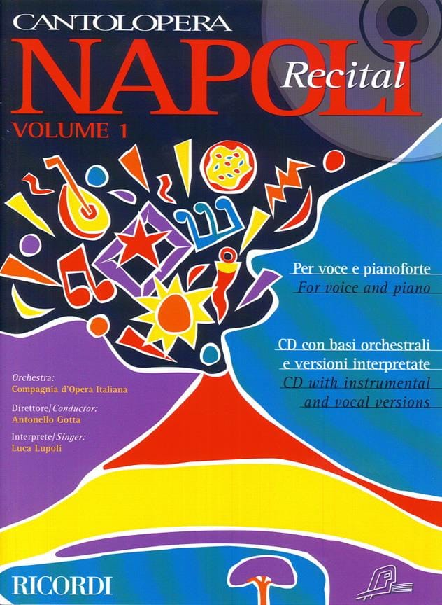 Napoli Recital Volume 1 - Partition - Mélodies - laflutedepan.com