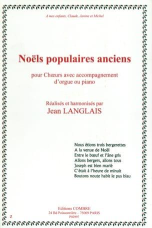 7 Noëls Populaires Anciens Opus 116 Partition Chœur - laflutedepan