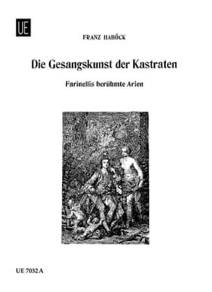 Die Gesangskunst Der Kastraten Partition Recueils - laflutedepan